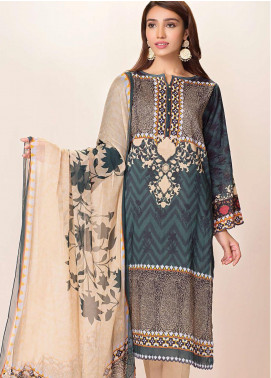 Phulkari by Taana Baana Printed Lawn Unstitched 2 Piece Suit TB20EF 1475T - Eid Collection