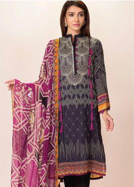 Phulkari by Taana Baana Printed Lawn Unstitched 2 Piece Suit TB20EF 1476BT - Eid Collection