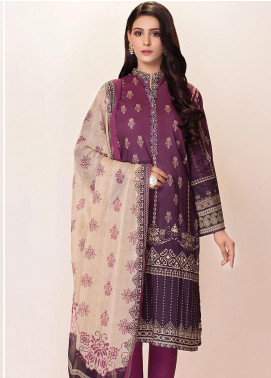 Phulkari by Taana Baana Printed Lawn Unstitched 2 Piece Suit TB20EF 1477AT - Eid Collection