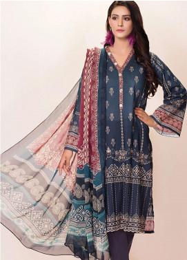 Phulkari by Taana Baana Printed Lawn Unstitched 2 Piece Suit TB20EF 1477BT - Eid Collection