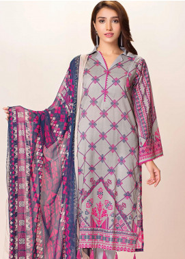 Phulkari by Taana Baana Printed Lawn Unstitched 2 Piece Suit TB20EF 1478AT - Eid Collection
