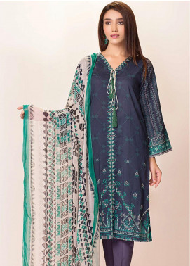 Phulkari by Taana Baana Printed Lawn Unstitched 2 Piece Suit TB20EF 1478BT - Eid Collection