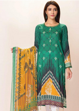 Phulkari by Taana Baana Printed Lawn Unstitched 2 Piece Suit TB20EF 1479BT - Eid Collection
