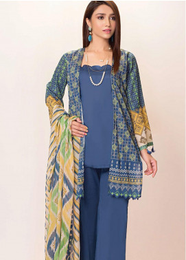 Phulkari by Taana Baana Printed Lawn Unstitched 2 Piece Suit TB20EF 1480AT - Eid Collection
