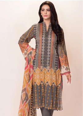 Phulkari by Taana Baana Printed Lawn Unstitched 2 Piece Suit TB20EF 1480BT - Eid Collection
