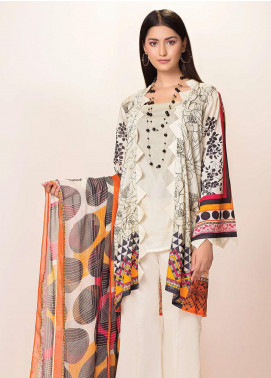 Phulkari by Taana Baana Printed Lawn Unstitched 2 Piece Suit TB20EF 1482T - Eid Collection