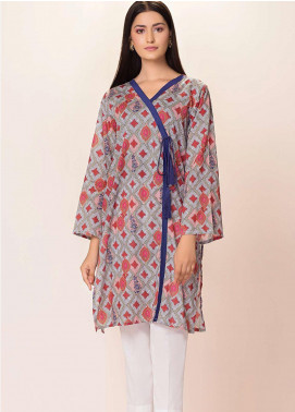 Phulkari by Taana Baana Printed Lawn Unstitched Kurties TB20EF 1486DT - Eid Collection