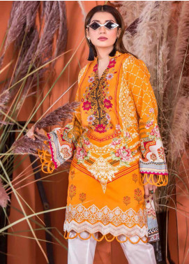 Plush by Riaz Arts Embroidered Khaddar Unstitched Kurties RA20KD 32 - Winter Collection