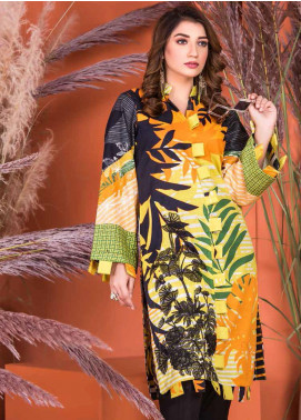 Plush by Riaz Arts Embroidered Khaddar Unstitched Kurties RA20KD 37 - Winter Collection