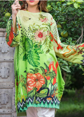 Plush by Riaz Arts Embroidered Viscose Unstitched Kurties RA20P 30 RETRO REVOLUTION - Winter Collection