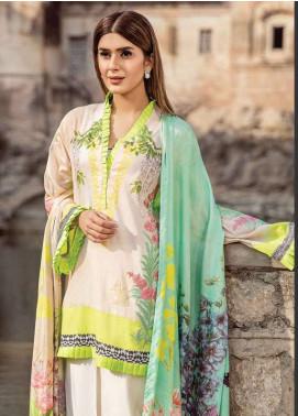 Zehra Saleem Embroidered Lawn Unstitched 3 Piece Suit PN18L 02 - Spring / Summer Collection