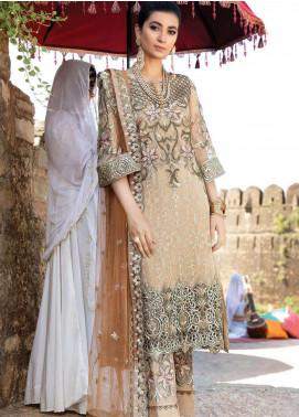 Poshaq-e-Khas by EmbRoyal Embroidered Chiffon Unstitched 3 Piece Suit IMP20PK 5004 JAHANARA - Luxury Collection