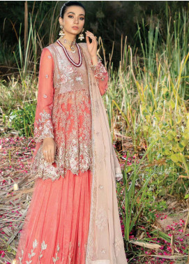 Poshaq-e-Khas by EmbRoyal Embroidered Net Unstitched 3 Piece Suit IMP20PK 5005 DASTAAN - Luxury Collection