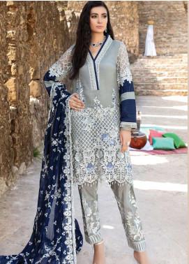 Poshaq-e-Khas by EmbRoyal Embroidered Chiffon Unstitched 3 Piece Suit IMP20PK 5006 CHAMBELI - Luxury Collection