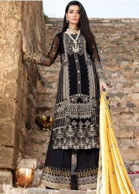 Poshaq-e-Khas by EmbRoyal Embroidered Chiffon Unstitched 3 Piece Suit IMP20PK 5008 RIWAYAT - Luxury Collection