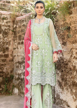 Poshaq-e-Khas by EmbRoyal Embroidered Organza Unstitched 3 Piece Suit IMP20PK 5009 KHUWABEEDA - Luxury Collection