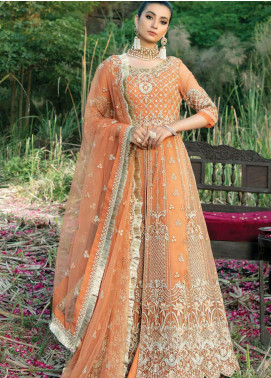 Poshaq-e-Khas by EmbRoyal Embroidered Organza Unstitched 3 Piece Suit IMP20PK 5010 WISAAL - Luxury Collection