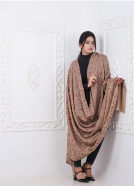 Sanaulla Exclusive Range Embroidered Pashmina Shawl 168928 - Pashmina Shawls