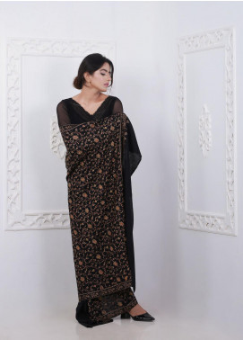 Sanaulla Exclusive Range Embroidered Pashmina Shawl Fancy 192036 - Pashmina Shawls