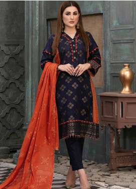 Prestige by Riaz Arts Embroidered Banarsi Unstitched 3 Piece Suit P20RA 23 - Summer Collection