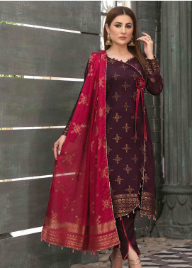 Prestige by Riaz Arts Embroidered Banarsi Unstitched 3 Piece Suit P20RA 25 - Summer Collection