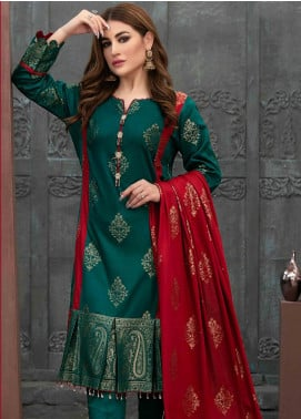Prestige by Riaz Arts Embroidered Banarsi Unstitched 3 Piece Suit P20RA 27 - Summer Collection
