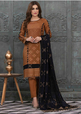 Prestige by Riaz Arts Embroidered Banarsi Unstitched 3 Piece Suit P20RA 28 - Summer Collection