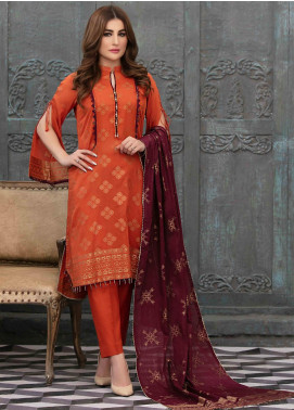 Prestige by Riaz Arts Embroidered Banarsi Unstitched 3 Piece Suit P20RA 29 - Summer Collection
