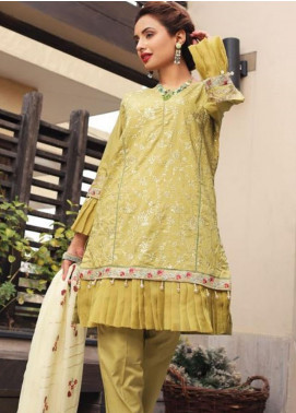 Puri Fabrics Embroidered Lawn Unstitched 3 Piece Suit PF20EM 2 - Spring / Summer Collection