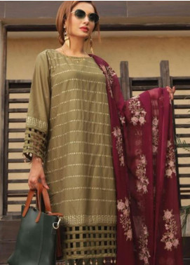 Puri Fabrics Embroidered Lawn Unstitched 3 Piece Suit PF20EM 9 - Spring / Summer Collection