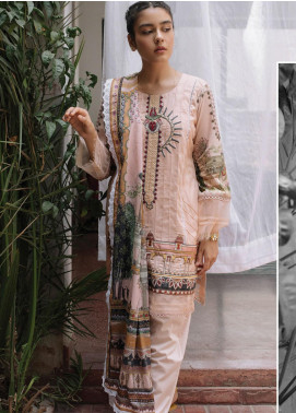 Qalamkar Embroidered Lawn Unstitched 3 Piece Suit QLM20Q 2 - Spring / Summer Collection