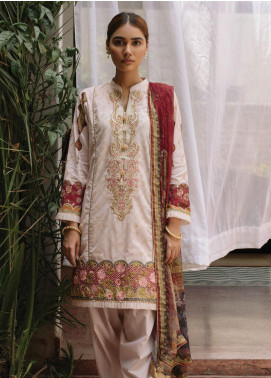 Qalamkar Embroidered Lawn Unstitched 3 Piece Suit QLM20Q 3 - Spring / Summer Collection