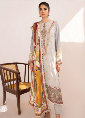 Qline by Qalamkar Embroidered Linen Unstitched 3 Piece Suit QLM20LN 04 - Winter Collection