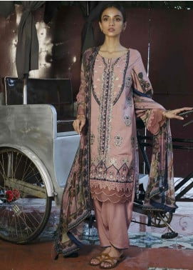 Qalamkar Embroidered Linen Unstitched 3 Piece Suit QLM19Q 05 - Winter Collection