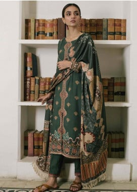 Qalamkar Embroidered Linen Unstitched 3 Piece Suit QLM19Q 10 - Winter Collection