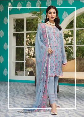 Raaya by Rang Rasiya Embroidered Karandi Unstitched 3 Piece Suit RY19K 701 A - Formal Collection