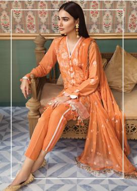 Raaya by Rang Rasiya Embroidered Karandi Unstitched 3 Piece Suit RY19K 702 A - Formal Collection