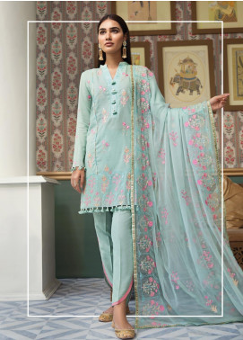 Raaya by Rang Rasiya Embroidered Karandi Unstitched 3 Piece Suit RY19K 703 A - Formal Collection