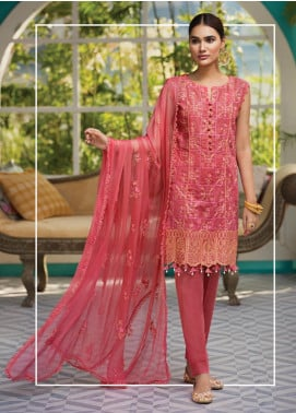 Raaya by Rang Rasiya Embroidered Karandi Unstitched 3 Piece Suit RY19K 704 B - Formal Collection