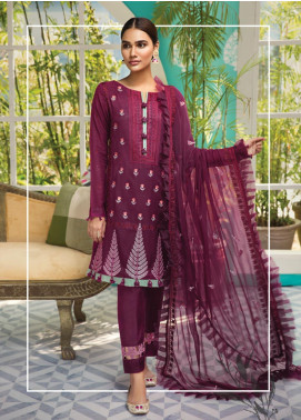 Raaya by Rang Rasiya Embroidered Karandi Unstitched 3 Piece Suit RY19K 705 B - Formal Collection