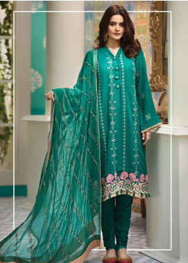 Raaya by Rang Rasiya Embroidered Karandi Unstitched 3 Piece Suit RY19K 706 A - Formal Collection