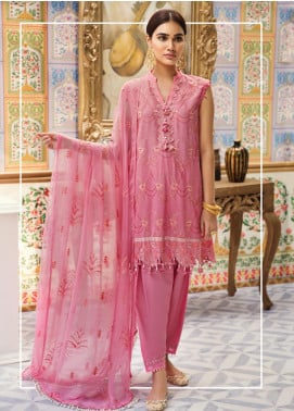 Raaya by Rang Rasiya Embroidered Karandi Unstitched 3 Piece Suit RY19K 707 A - Formal Collection