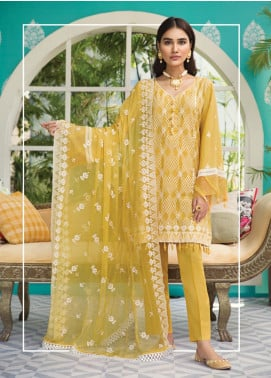 Raaya by Rang Rasiya Embroidered Karandi Unstitched 3 Piece Suit RY19K 710 B - Formal Collection