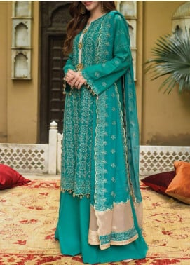Raaya by Rang Rasiya Embroidered Karandi Unstitched 3 Piece Suit RR20R 319 - Winter Collection