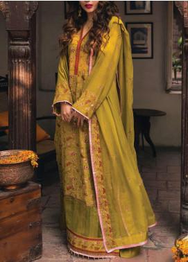 Raaya by Rang Rasiya Embroidered Karandi Unstitched 3 Piece Suit RR20R 326 - Winter Collection