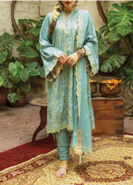 Raaya by Rang Rasiya Embroidered Karandi Unstitched 3 Piece Suit RR20R 328 - Winter Collection