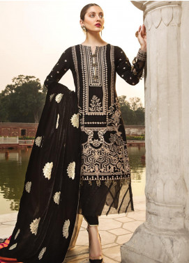 Raaya by Rang Rasiya Embroidered Cottel Linen Unstitched 3 Piece Suit RY19W 4 - Winter Collection
