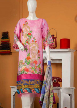 Rabia's Textiles Embroidered Lawn Unstitched 3 Piece Suit RBA19S 03 CLASSIC BLOOM - Spring / Summer Collection