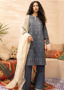 RajBari Embroidered Jacquard Unstitched 2 Piece Suit RB20EL 1A - Spring / Summer Collection
