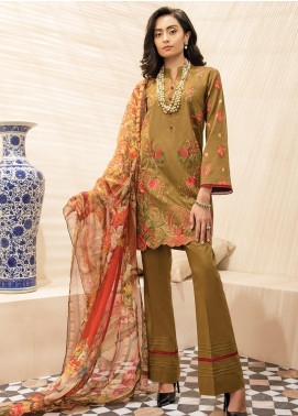 RajBari Embroidered Lawn Unstitched 2 Piece Suit RB20EL 2A - Spring / Summer Collection